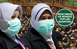 İngiltere'de koronavirüsten ölenlerin cenazeleri...