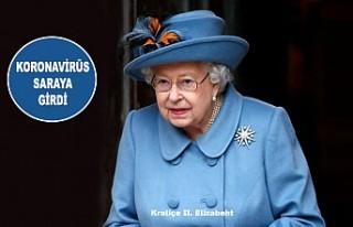 Kraliçe II Elizabeth'te 'Koronavirüs'...