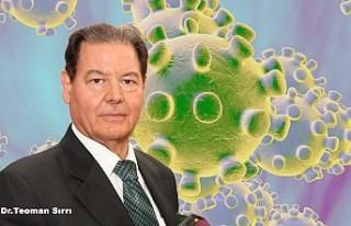 Kraliyet Payeli Dr Sırrı'dan Koronavirüs Uyarıları