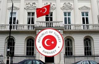 Türkiye'nin Londra Büyükelçiliğinden İngiltere'deki...