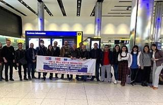 Londra'da mahsur kalan 21 Türk öğretmen yardım...