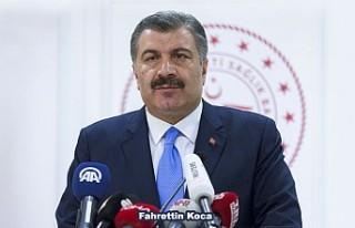 Sağlık Bakanı Koca, Son Koronavirüs Vaka Sayısını...
