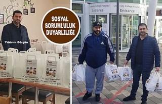 Türk İşadamından NHS Çalışanlarına Anlamlı...