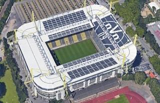 Borussia Dortmund'un stadı tedavi merkezine...