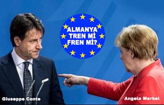 İtalya Başbakanı Conte, Almanya'yı Bakın...