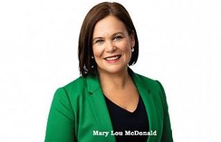Sinn Fein Partisi lideri McDonald Kovid-19'u...