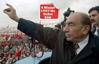Ülkücü Hareketin Lideri Türkeş'e Vefatının...