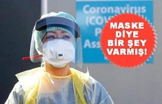 İngiltere'de Hükümet İlk Kez Maske Tavsiye...