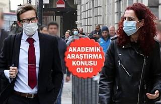 İngiltere'de Kadınlar mı Erkekler mi Maske...