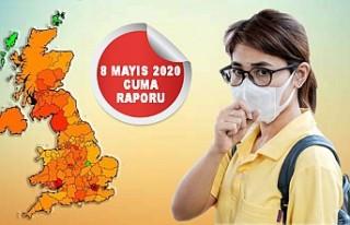 İngiltere'de Koronavirüsten Ölü Sayısı...