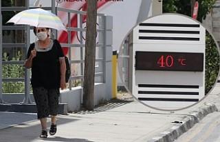 KKTC'de Kavurucu Sıcaklar Bunaltıyor