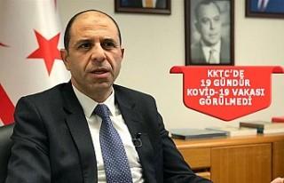 KKTC Dışişleri Bakanı Özersay'dan DSÖ'ye...