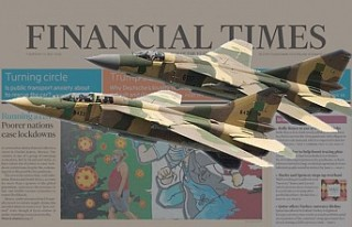 Libya'ya sevk edilen Rus savaş uçaklarına...