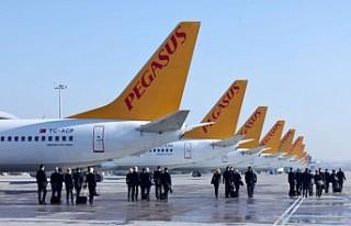 Pegasus Hava Yolları Uçuşları Başlatıyor