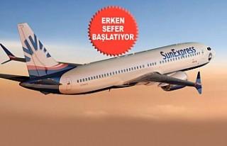 Sunexpress Avrupa'dan Erken Uçacak