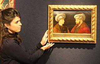 Fatih Sultan Mehmet'in Portresine Londra'da...