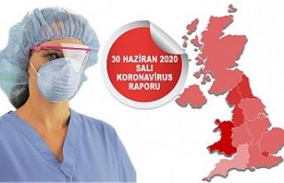 İngiltere'de Koronavirüsten Ölenler 44 Bine...