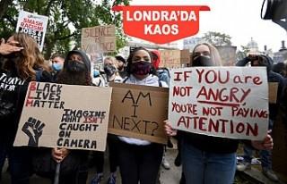 Londra'da Irkçılık Karşıtı Gösteri Çatışmaya...