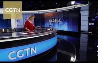 Çin resmi kanalı CGTN İngiltere'de yayın...