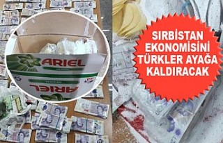 Deterjan Kutusundaki 100 Bin Sterline Sırbistan Polisi...