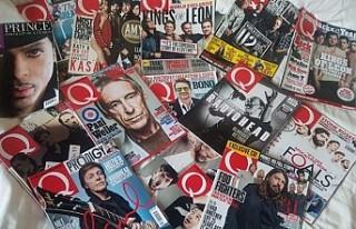 Dünyaca ünlü müzik dergisi Q, yayın hayatına...