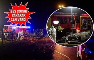 Feci Kazada Aynı Aileden Beş Çocuk Öldü