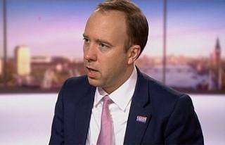 İngiltere Sağlık Bakanı Hancock, Avrupa'da...