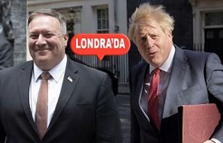 Johnson İle Pompeo Ortadoğ'yu Konuştu