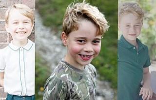 Prens George Yedi Yaşında
