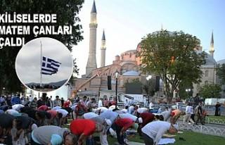 Yunanistan'da Ayasofya Camiinin İbadete Açılmasına...