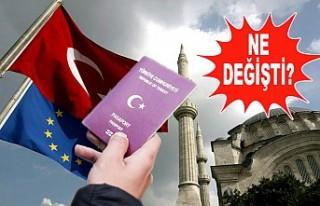 Avrupa Birliği Türk Vatandaşlarına Vize Vermiyor...