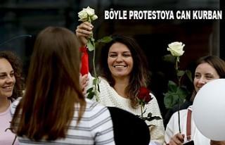Belarus'ta Cumhurbaşkanı Seçimine Protestolar...