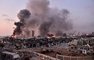 Beyrut Limanı'ndaki patlama 3 ila 5 milyar dolarlık...