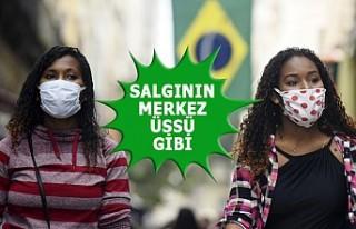 Brezilya'da Koronavirüs Ölüm Rakamları Korkunç
