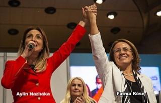 CHP'nin Kadın Kolları Genel Başkanı Aylin Nazlıaka...