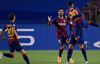 Cüneyt Çakır'ın yönettiği maçta Barcelona...