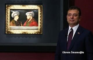 Fatih Sultan Mehmet'in Portresi İçin İstanbul'da...
