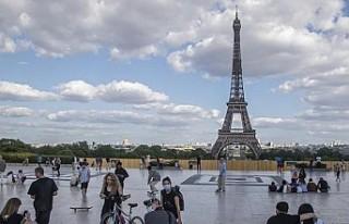 Fransa'da maske zorunluluğu uygulanan bölge...