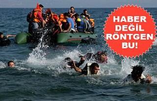 Manş Denizinde Göçmen Gözetleyen TV'cilere Siyasetçi...