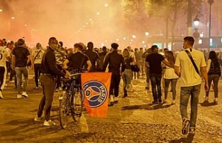 PSG-Bayern Münih finali sonrası Paris'te olaylar...