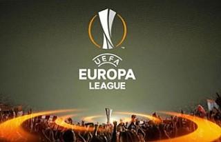UEFA Avrupa Ligi'nde çeyrek finalistler belli...