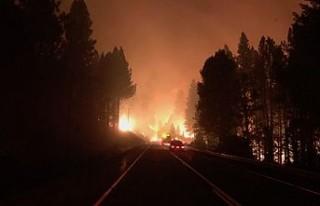 ABD'de yangınların arkası kesilmiyor
