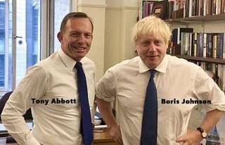 Eski Avustralya Başbakanı Tony Abbott, İngiliz...