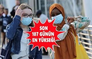 İngiltere'de Koronavirüs Vaka Sayısı Zirve...