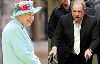 Kraliçe, Harvey Weinstein'a Verdiği Nişanı...