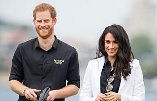 Prens Harry ve Meghan Markle'den İlk Proje!