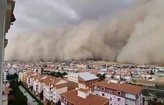 Ankara'yı vuran kum fırtınasının nedeni...