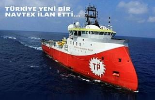 Barbaros Hayreddin Paşa Gemisi Doğu Akdeniz'de