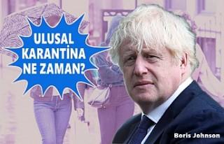 İngiltere Başbakanı Johnson'dan Karantinada 'Denge'...