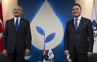 Kılıçdaroğlu, Ali Babacan'ı Ziyaret Etti